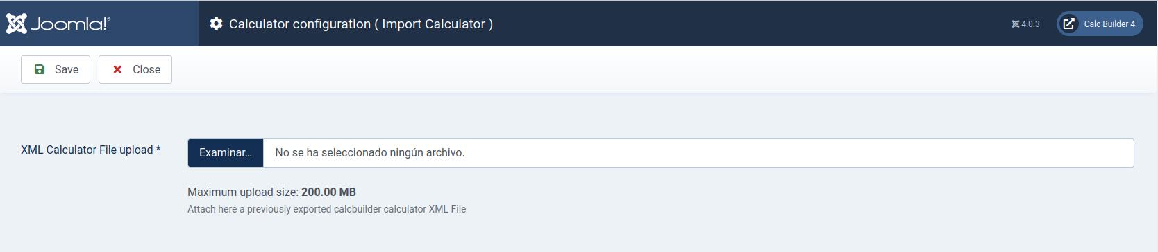 Calcbuilder for Joomla 4
